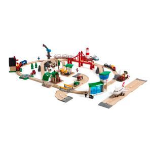 ブリオ おもちゃ BRIO RAILWAY WORLD DELUXE SET 33766 ワールドデラックスセット オモチャ 玩具|sports-ex