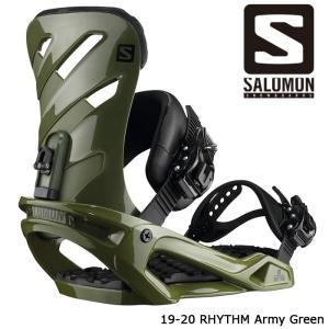 サロモン ビンディング 金具 19-20 SALOMON RHYTHM Army Green リズム...