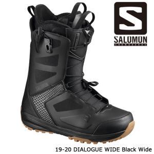 サロモン ブーツ 19-20 SALOMON DIALOGUE WIDE Black Wide ダイアログ ワイド 日本正規品|sports-ex