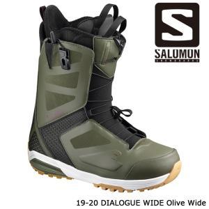 サロモン ブーツ 19-20 SALOMON DIALOGUE WIDE Olive Wide ダイアログ ワイド 日本正規品|sports-ex