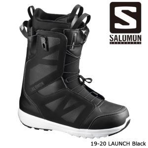 サロモン ブーツ 19-20 SALOMON LAUNCH Black ラウンチ 日本正規品|sports-ex