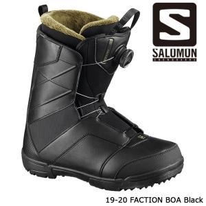 サロモン ブーツ 19-20 SALOMON FACTION BOA Black ファクション ボア 日本正規品|sports-ex
