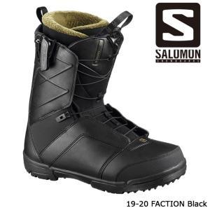 サロモン ブーツ 19-20 SALOMON FACTION Black ファクション 日本正規品|sports-ex