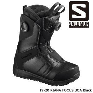 サロモン ブーツ 19-20 SALOMON KIANA FOCUS BOA Black キアナ フォーカス ボア 日本正規品|sports-ex