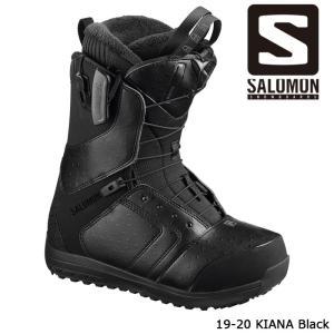 サロモン ブーツ 19-20 SALOMON KIANA Black キアナ 日本正規品|sports-ex