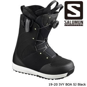 サロモン ブーツ 19-20 SALOMON IVY BOA STR8JKT Black アイビー ボア 日本正規品|sports-ex