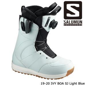 サロモン ブーツ 19-20 SALOMON IVY BOA STR8JKT Light Blue アイビー ボア 日本正規品|sports-ex
