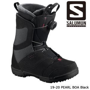 サロモン ブーツ 19-20 SALOMON PEARL BOA Black パール ボア 日本正規品|sports-ex