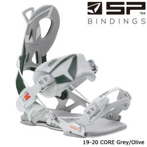 エスピー ビンディング 金具 19-20 SP CORE Grey/Olive コア 日本正規品|sports-ex