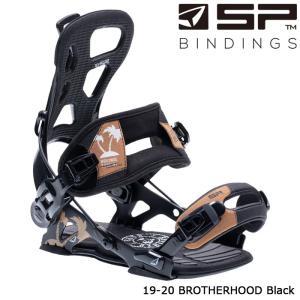エスピー ビンディング 金具 19-20 SP BROTHERHOOD Black ブラザーフッド 日本正規品|sports-ex
