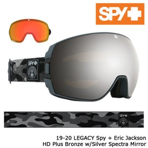 スパイ ゴーグル 19-20 SPY LEGACY SPY+Eric Jackson HD+ Bronze w/Silver Spectra Mirror HD+ Low Light Gray Green w/Red Spectra Mirror 日本正規品|sports-ex