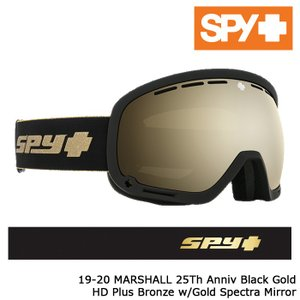 スパイ ゴーグル 19-20 SPY MARSHALL 25th Anniversary HD+ Bronze w/Gold Spectra Mirror アジアンフィット 日本正規品|sports-ex