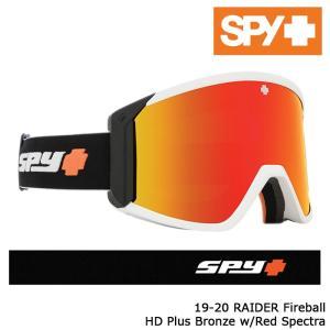 スパイ ゴーグル 19-20 SPY RAIDER FIREBALL HD+ bronze w/Red Spectra Mirror アジアンフィット 日本正規品|sports-ex