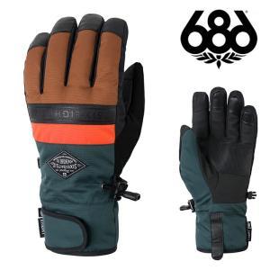 シックスエイトシックス グローブ 20-21 686 INFILOFT RECON GLOVE Clay Colorblock M0WGLV104 スノーボード 日本正規品|sports-ex