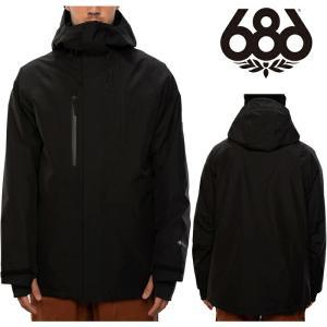 シックスエイトシックス ウェア ジャケット 20-21 686 GORE-TEX CORE JACKET Black M0W105 スノーボード ゴアテックス 日本正規品|sports-ex