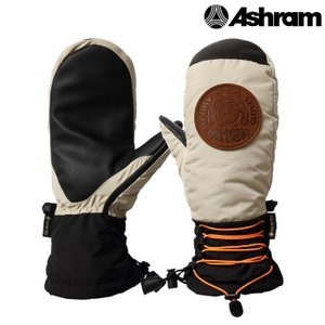 アシュラム ミット 20-21 ASHRAM POD Beige ASRM20W07 GORE-TEX ゴアテックス スノーボード ミトン 日本正規品|sports-ex