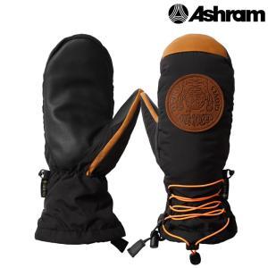 アシュラム ミット 20-21 ASHRAM POD Black ASRM20W07 GORE-TEX ゴアテックス スノーボード ミトン 日本正規品|sports-ex