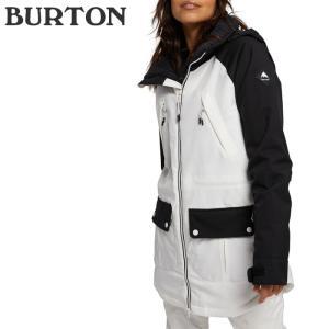 バートン ウェア ジャケット 20-21 BURTON WOMEN'S PROWESS JACKET True Black/Stout White スノーボード 日本正規品|sports-ex