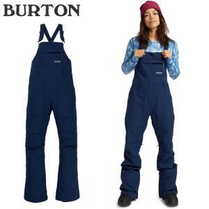 バートン ウェア ビブパンツ 20-21 BURTON WOMEN'S AVALON BIB PANT Dress Blue スノーボード 日本正規品|sports-ex