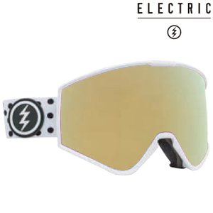 エレクトリック ゴーグル 20-21 ELECTRIC KLEVELAND POLKA Brose Light/Gold Chrome 21KPO スノーボード スキー アジアンフィット 日本正規品|sports-ex