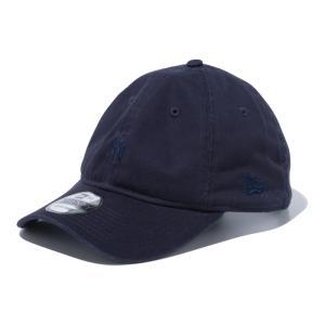 ニューエラ NEW ERA 9TWENTY ニューヨーク・ヤンキース トナルロゴ ミニロゴ ネイビー × ミッドナイトネイビー 56.8 - 60.6cm キャップ 帽子 日本正規品|sports-ex