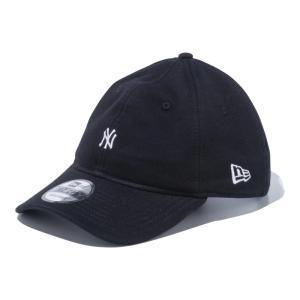 ニューエラ NEW ERA 9THIRTY スウェット ニューヨーク・ヤンキース ミニロゴ ブラック × スノーホワイト 56.8 - 60.6cm キャップ 帽子 日本正規品|sports-ex