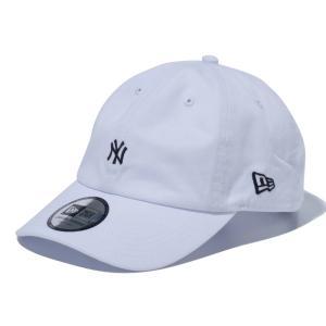 ニューエラ NEW ERA Casual Classic ニューヨーク・ヤンキース MLB カスタム ミニロゴ ホワイト 55.8 - 59.6cm キャップ 帽子 日本正規品|sports-ex