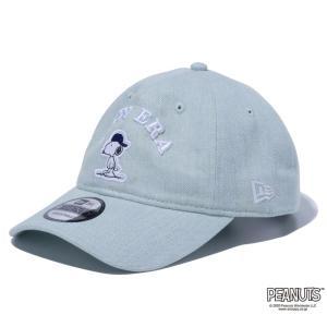 ニューエラ NEW ERA 9TWENTY PEANUTS ピーナッツ スヌーピー ウォッシュドデニム 56.8 - 60.6cm キャップ 帽子 日本正規品|sports-ex