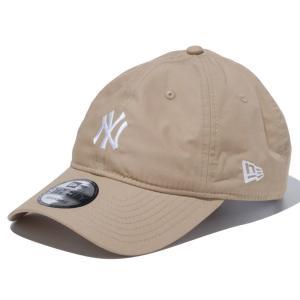 ニューエラ NEW ERA 9THIRTY ニューヨーク・ヤンキース タイプライター ミニロゴ キャメル 56.8 - 60.6cm アウトドア キャップ 帽子 日本正規品|sports-ex