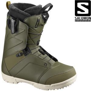 サロモン ブーツ 20-21 SALOMON FACTION Olive Night ファクション スノーボード 日本正規品|sports-ex