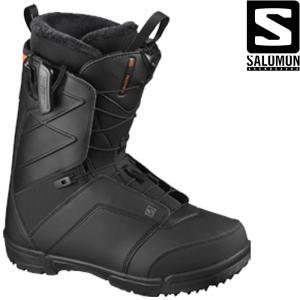 サロモン ブーツ 20-21 SALOMON FACTION WIDE Black ファクション ワイド スノーボード 日本正規品|sports-ex