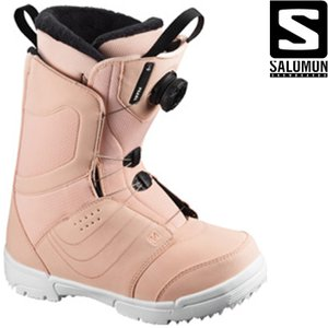 サロモン ブーツ 20-21 SALOMON PEARL BOA Tropical Peach パー...