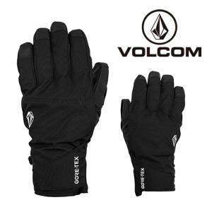 ボルコム グローブ 20-21 VOLCOM CP2 GORE-TEX GLOVE BLK-Black ゴアテックス スノーボード 日本正規品|sports-ex