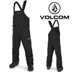 ボルコム ウェア オーバーオール 20-21 VOLCOM RAIN GORE BIB OVERALL BLK-Black G1351902 スノーボード ゴアテックス ビブパンツ 日本正規品|sports-ex