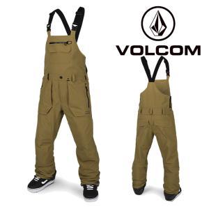ボルコム ウェア オーバーオール 20-21 VOLCOM RAIN GORE BIB OVERALL BUK-Burnt Khaki G1351902 スノーボード ゴアテックス ビブパンツ 日本正規品|sports-ex