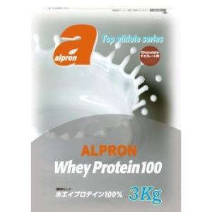 トップアスリートシリーズ ホエイプロテイン 100WPC  チョコレート 3kg×2個セット  - アルプロン