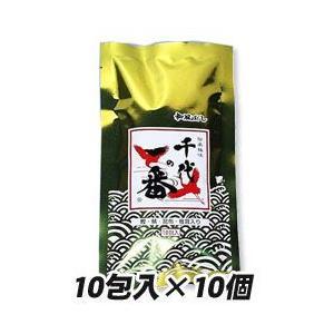 「千代の一番 (10包×10パック)」は、素材にこだわり、主原料の原産地も厳しく吟味しただしパックで...