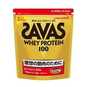 「ザバス(SAVAS) ホエイプロテイン100 ココア 2520g」は、カラダづくり、特に筋肉づくり...