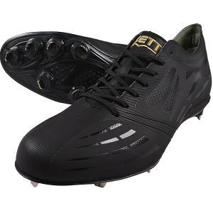 ネオステイタス ZETT 埋込みスパイク BSR2886 ブラックxブラック|sports-joy