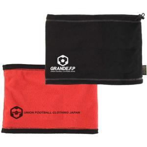GRANDE グランデ GRANDE.F.P リバーシブル.フリースネックウォーマー GFPH19906 BLK/RED sports-lab
