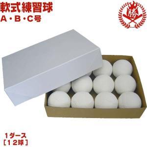 ナガセケンコー 野球 軟式ボール 練習球 A号 B号 C号 検定落ちボール 1ダース 軟式野球 ボール b-005|sports-musashi