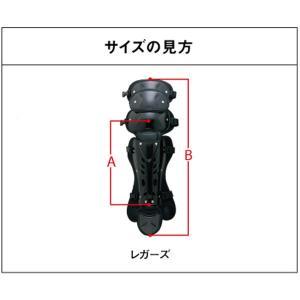 ミズノ/ソフトボール用/キャッチャー/レガース/レッグガード/捕手用/キャッチャー用品/1djls100/gm-leg-s1 sports-musashi 04