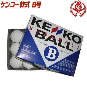 ナガセケンコー 野球 軟式ボール B号 試合球 中学生用 1ダース 軟式野球 ボール kenko-b-new-d|sports-musashi