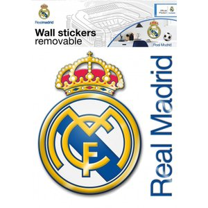fc real madrid fc real madrid wall sticker maxi logo voltagebd Choice Image