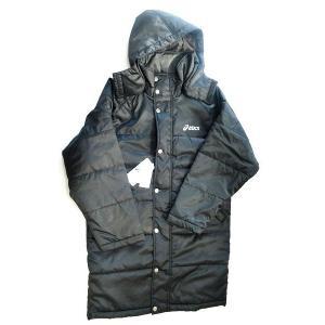 【特別価格・送料無料】アシックス 中わたコート EZB501 90 サイズ男性用L|sports-will