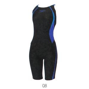 【特別価格・50%OFF】スピード 競泳水着 SD45H532 QB サイズ女SS FLEXΣウイメンズニースキン FINA承認 2015年season2モデル|sports-will