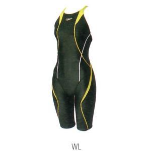 【特別価格・35%OFF】スピード 競泳水着 SD46H03 WL サイズ女SS FLEXCubeウイメンズオープンバックニースキン FINA承認 2017年season1モデル|sports-will