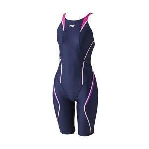 スピード 競泳水着 SD47H032 NM サイズ女SS FLEXCubeウイメンズオープンバックニースキン FINA承認 2017年season2モデル|sports-will