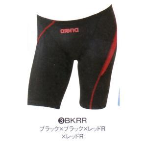 【特別価格・45%OFF】アリーナ 競泳水着 ARN5012MN BKRR サイズ男S ハーフスパッツ FINA承認 2016年秋冬モデル|sports-will