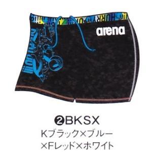 アリーナ 練習水着 SAR8108 BKSX サイズ男M ショートボックス タフスーツ 2018年春夏モデル sports-will